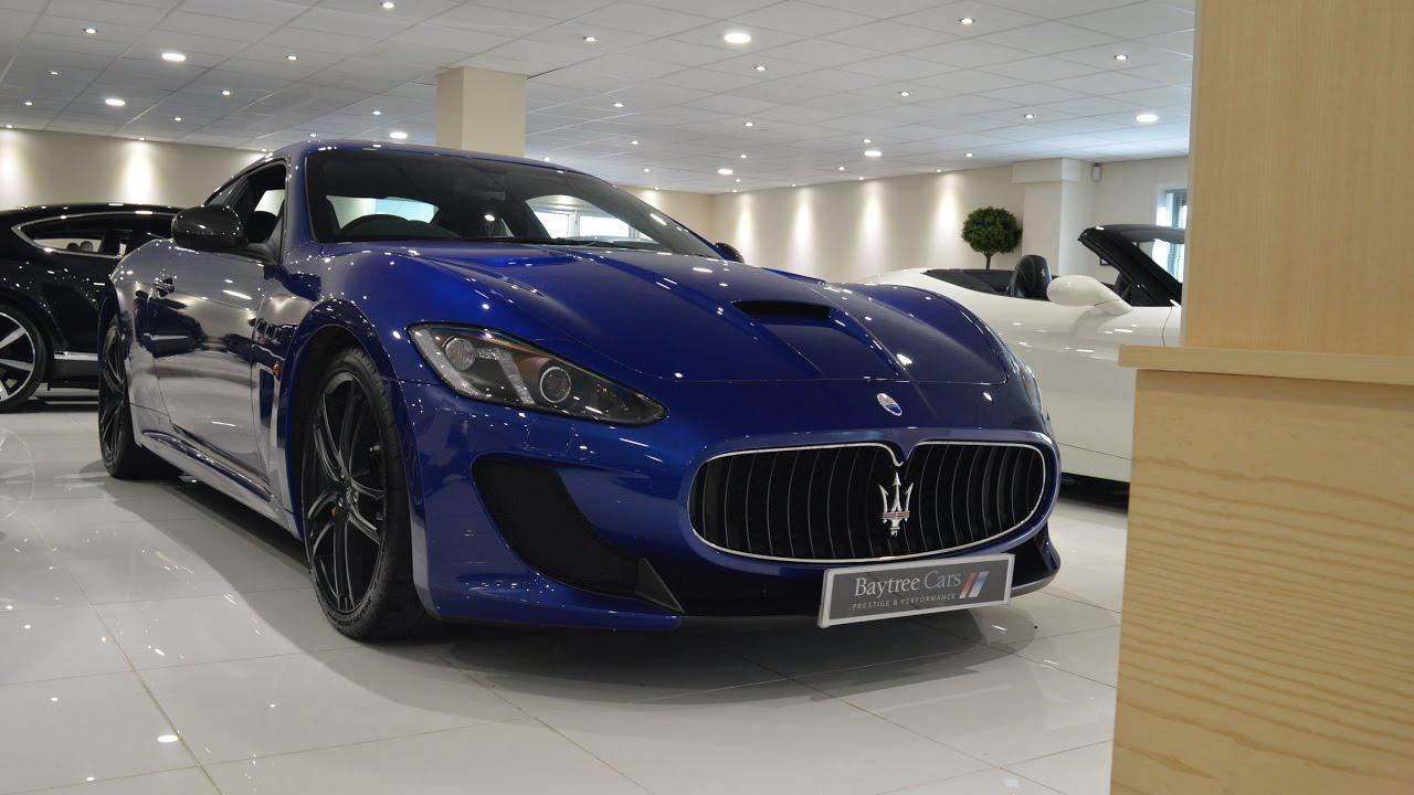 Blu Mediterraneo Maserati Granturismo MC Stradale At