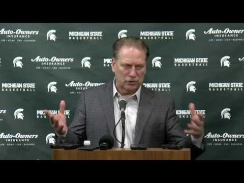 Tom Izzo - Post-Game Press Conference vs. Ohio State