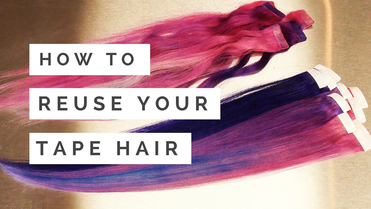 How to reuse your tape in hair extensions doctoredlocks how to reuse your tape in hair extensions doctoredlocks youtube pmusecretfo Image collections