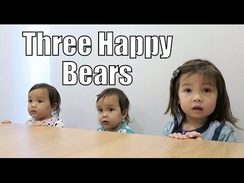 Three Very Happy Bears! - November 13, 2015 - ItsJudysLife Vlogs