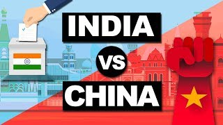 India vs China 2019 : Detailed Comparison GDP, Defense, Economy, Growth rate 2019