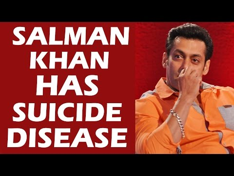 Salman Khan's Painful SUICIDE Disease - Know Everything About It