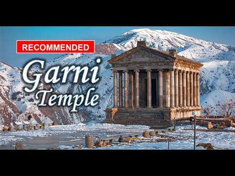 Ancient Garni Temple in Armenia