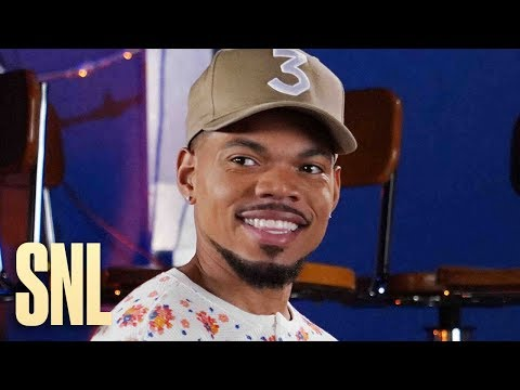 Chance The Rapper Is 'SNL' Pumpkin Carving Champion