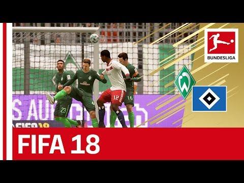 Bremen vs Hamburg - FIFA 18 Prediction with EA Sports