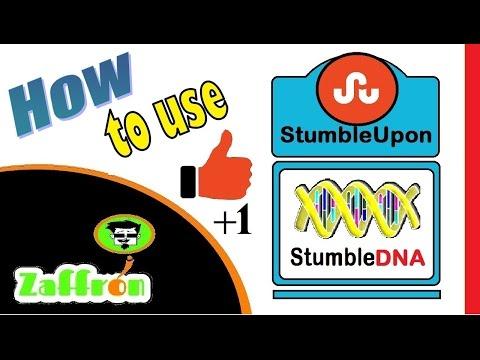 StumbleUpon tutorial - Get Views by StumbleUpon traffic   ستمبل أبون   StumbleUponのチュートリアル   zaffron