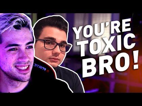 'Bro you're toxic!' ft. Pow3r, Motor & Marza