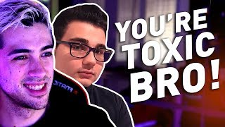 """Bro you're toxic!"" ft. Pow3r, Motor & Marza"