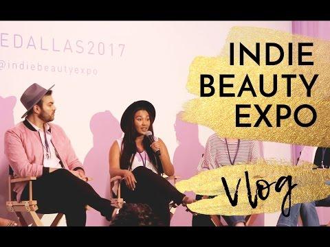 Vlog | Indie Beauty Expo Dallas 2017 + HUGE Gift Bag Haul!