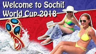 ❗ Welcome to Sochi, Russia! World Cup City! On the Beach ❗