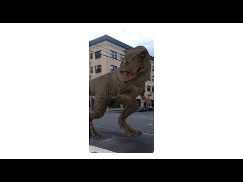 Google AR 検索 : Google で検索して、恐竜と遊ぼう!