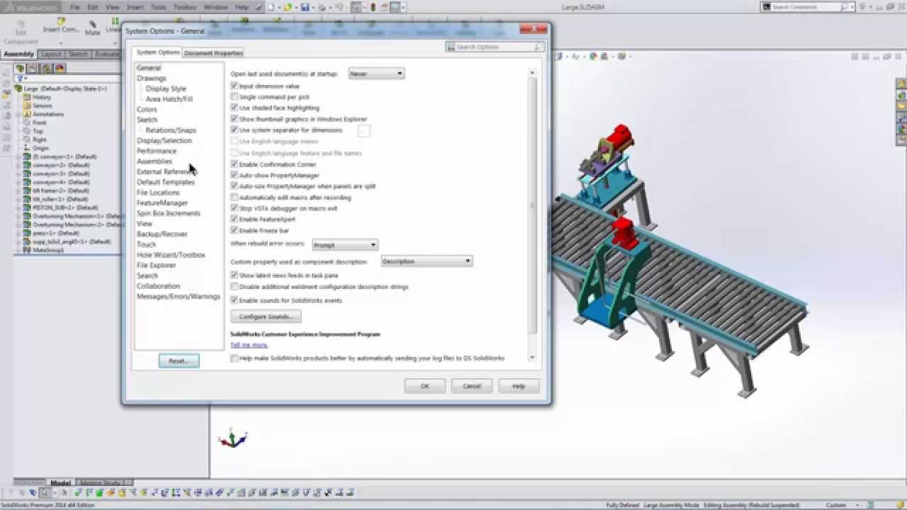SOLIDWORKS - Eliminate Prompts to Save Read Only Documents
