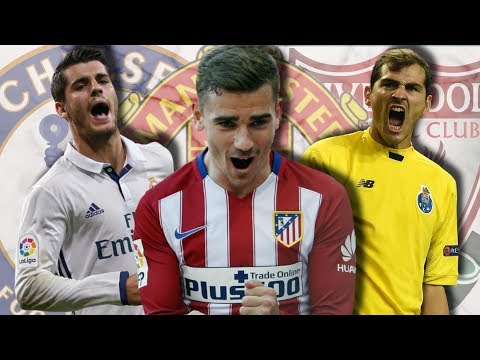 GRIEZMANN to Transfer, MORATA Leaving Madrid and CASILLAS to Liverpool? - Transfer Rumours!