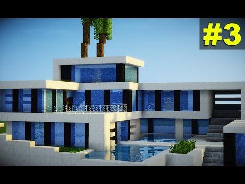 Minecraft tutorial casa super moderna parte 1 mp3 for Casa moderna minecraft tutorial