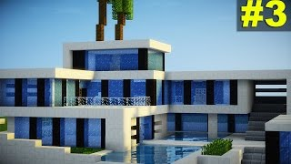 Minecraft: Tutorial Casa Super Moderna - Parte 3