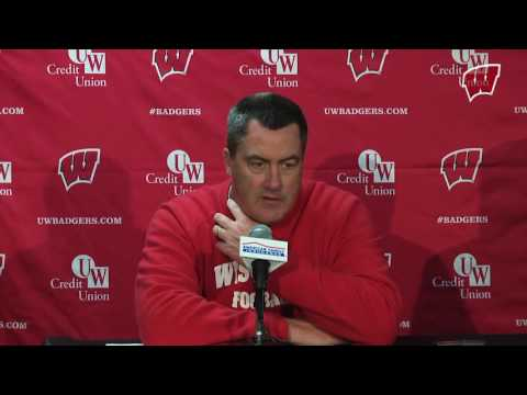 Chryst Illinois Postgame Press Conference