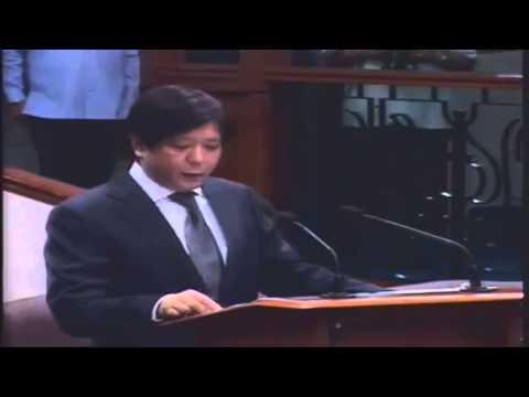 Ferdinand Bongbong Marcos On Bangsamoro Basic Law Bill 2894