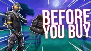 Fortnite ROGUE AGENT SKIN - Before You Buy - Starter Pack Review