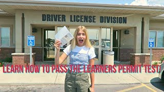 LEARN HOW TO PASS THE DRIVERS PERMIT TEST W/ MARLACATHERINE