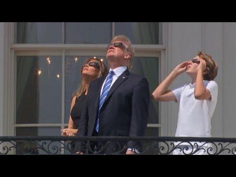 EUA param para ver eclipse do Sol