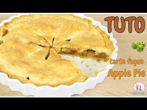 ♡•-recette-tarte-aux-pommes---apple-pie---rapide-et-facile-•♡