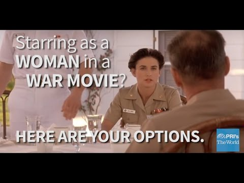 What part would you play in a war movie? As a woman, probably one of these. on YouTube