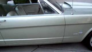 Walk Around 1965 Mustang Coupe Fuel Injected Resto Mod