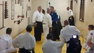 The afternoon session of the second historical Traditional Aikido seminar in Cuba.