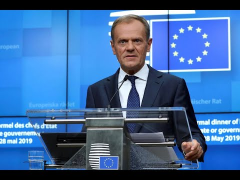 Donald Tusk Talks Brexit, Who Should Fill Top EU Jobs