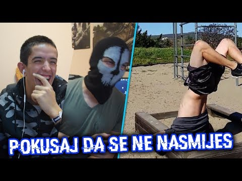 CRNOGORSKI POKUSAJ DA SE NE NASMIJES w/MaskedGamerZ !!