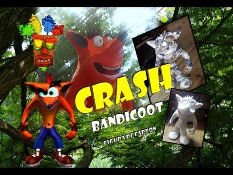 Crash Bandicoot - Figura De Cartón