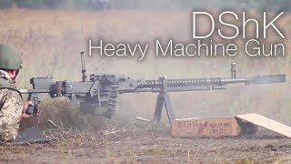 Firing The Super-Sized Soviet DShK Heavy Machine Gun