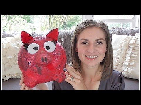 {Kids} DIY Piggy Bank