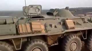 Украина Донбасс Ополченцы ведут обстрел позиций ВСУ
