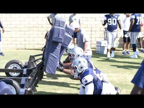 Raw Footage of Dallas Cowboys Practice 7/31/18