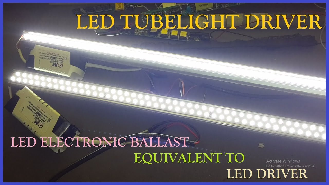 How To Repair Led Tube Light At Home Replacing Circuit Equivalent T8 Wiring Diagram