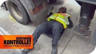 Bremsen stinken! Ist der LKW kaputt? | Achtung Kontrolle | kabel eins