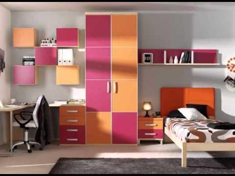 Camas y armarios para habitacion juvenil youtube - Armarios para habitacion ...
