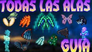 Terraria Android Guia : Todas Las Alas Del Juego!!! + Crafteo y Características!!!