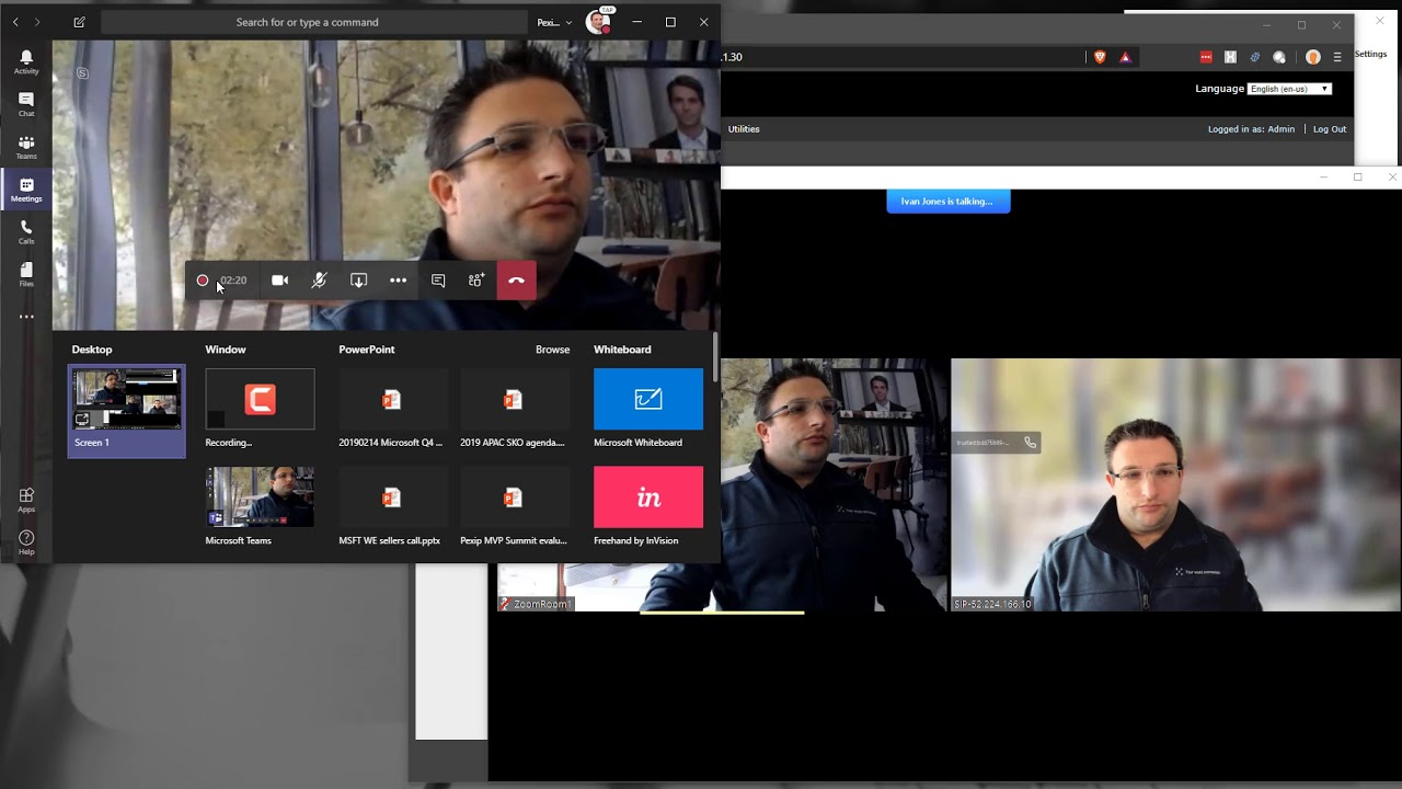 Joining a Teams Meeting with a Zoom Room using Pexip Interop