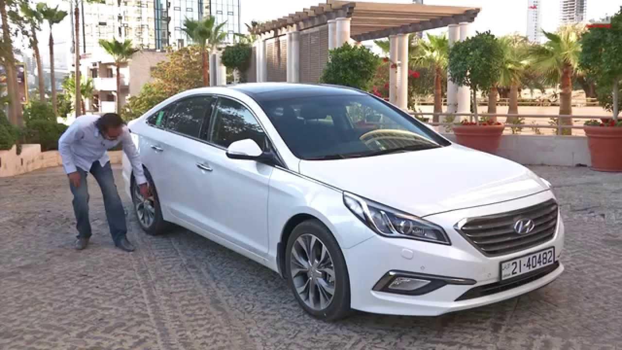 هيونداي سوناتا 2015 سعودي أوتو Hyundai Sonata Youtube