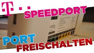 Minecraft Port freischalten | Tęlekom Speedport (W 921V) Router Tutorial [German/HD+]