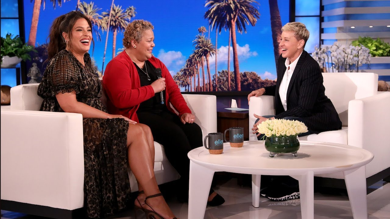Ashley Graham and Ellen Give 'Fearless' Hero a Huge Surprise