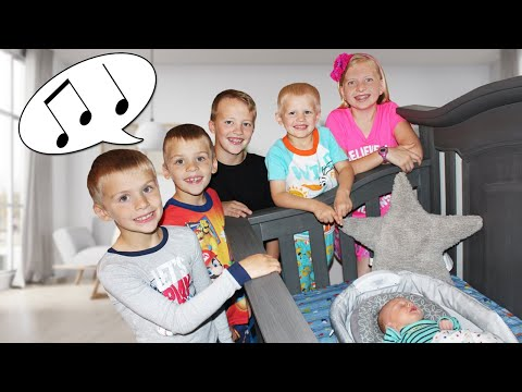 Kids Sing Baby Owen to Sleep