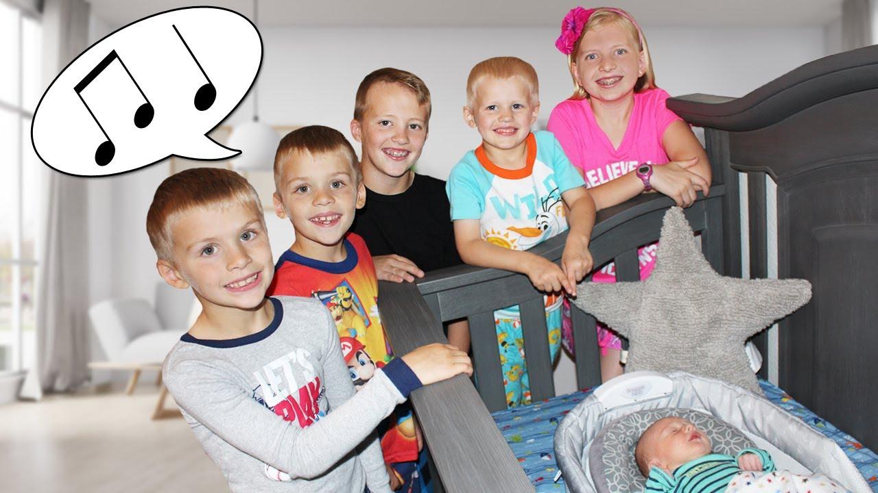 Kids Sing Baby Owen To Sleep Family Fun Pack