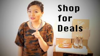 How do I Shop for Deals? Save money for Fashion! Thumbnail