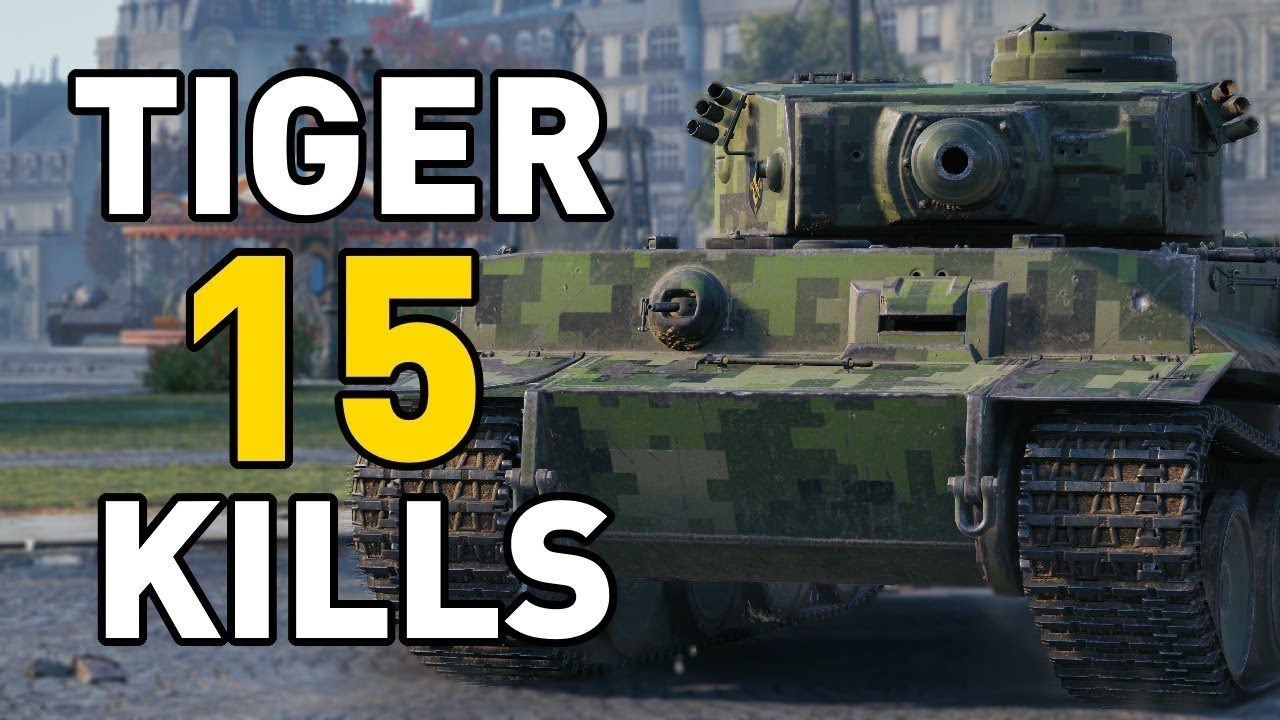 World of Tanks    15 KILLS IN A TIGER!