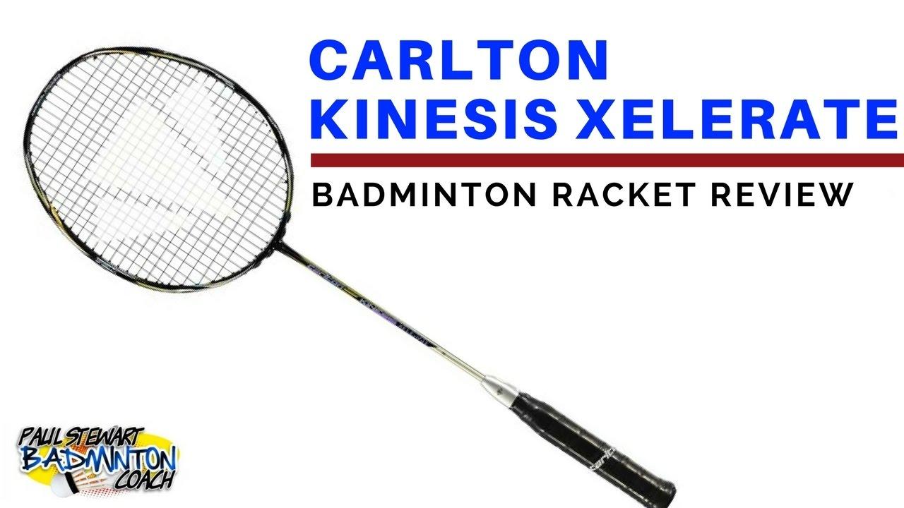 RRP £160 CARLTON KINESIS RAPID BADMINTON RACKET WITH FREE TOWEL