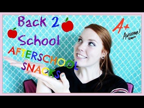 back-2-school:-afterschool-snacks