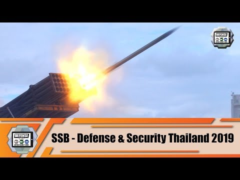 SSB Turkish Defense and security industry at Defense and Security Bangkok Thailand 2019 Exhibition